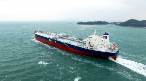Capital Ship Management Corp. takes delivery of M/T 'Aristoklis'