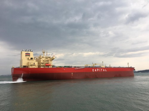 Capital Ship Management Corp. Takes Delivery of M/T 'Aitolos'