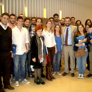 Postgraduate students from the University of the Aegean visited Capital Ship Management headquarters for an educational visit, on May 14, 2013.