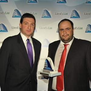 Mr. Evangelos Marinakis, as President & CEO of Capital Maritime & Trading Corp. received the 'Tanker Company of the Year 2009' award on behalf of Capital Ship Management Corp. at the annual Lloyd's List Greek Shipping Awards that took place in Athens on December 4, 2009.