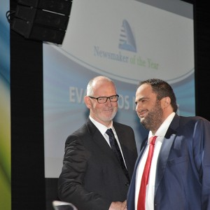 Mr. Evaggelos Marinakis, as President & CEO of Capital Maritime & Trading Corp. received the 'Newsmaker of the Year 2010' award at the annual Lloyd's List Greek Shipping Awards that took place in Athens on December 10, 2010.