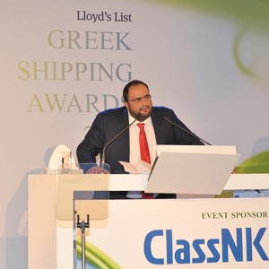 Mr. Evaggelos Marinakis, the President & CEO of Capital Maritime & Trading Corp. received the 'Newsmaker of the Year 2010' award at the annual Lloyd's List Greek Shipping Awards that took place in Athens on December 10, 2010.