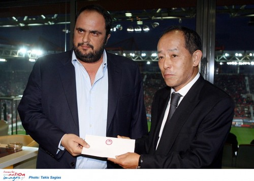 Mr. Evangelos Marinakis, the Chief Executive Officer of Capital Maritime & Trading Corp.,  donated the amount of $140,000 to the Ambassador of Japan in Greece, Mr. Hiroshi Toda.