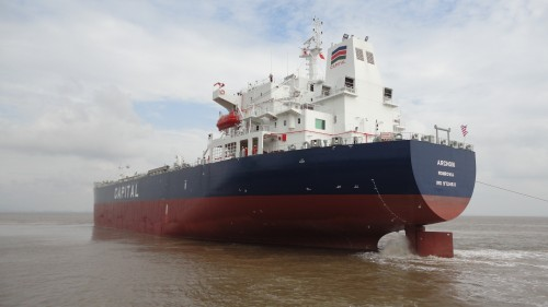 Capital Ship Management Corp. takes delivery of M/T Archon