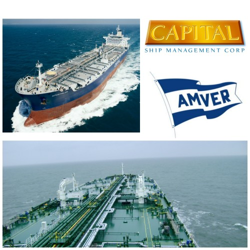 Capital Ship Management Corp. receives Amver Awards by the U.S. Coast Guard