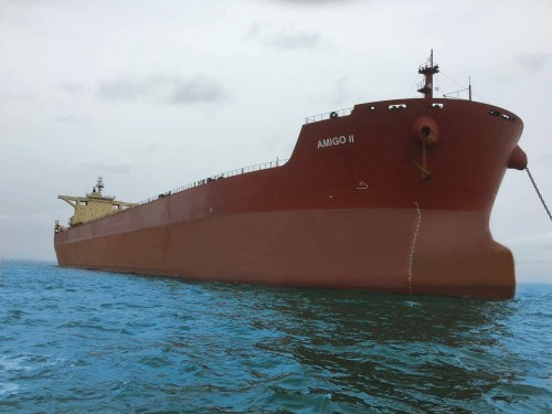 Capital Ship Management Corp. Takes Delivery of M/V 'Amigo II'