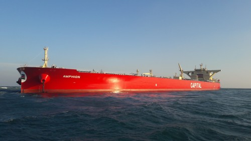 Capital Ship Management Corp. Takes Delivery of M/T 'Amphion'