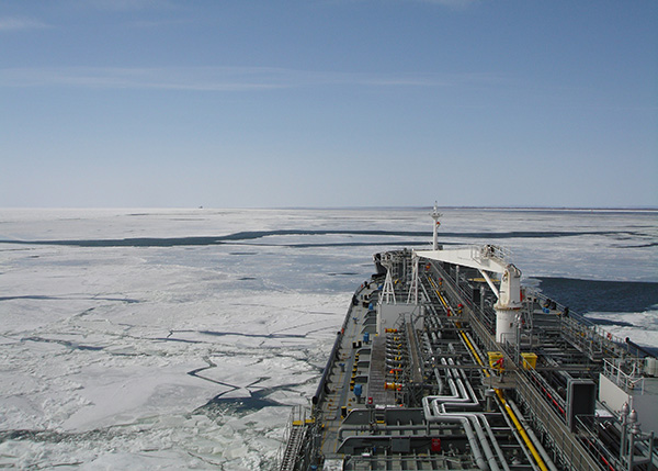 Vessels Trading In Ice Conditions